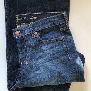 7 for all Mankind Dojo Denim Jeans size 28